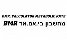מחשבון BMR