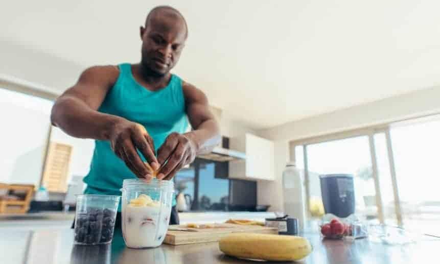 מה אוכלים לפני אימון