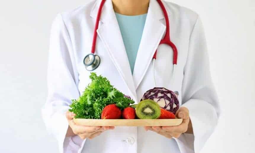 דיאטת פירות וירקות