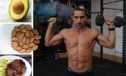 תפריטי תזונה לבניית מסת שריר – גברים במשקל 60, 75, 90 קילו