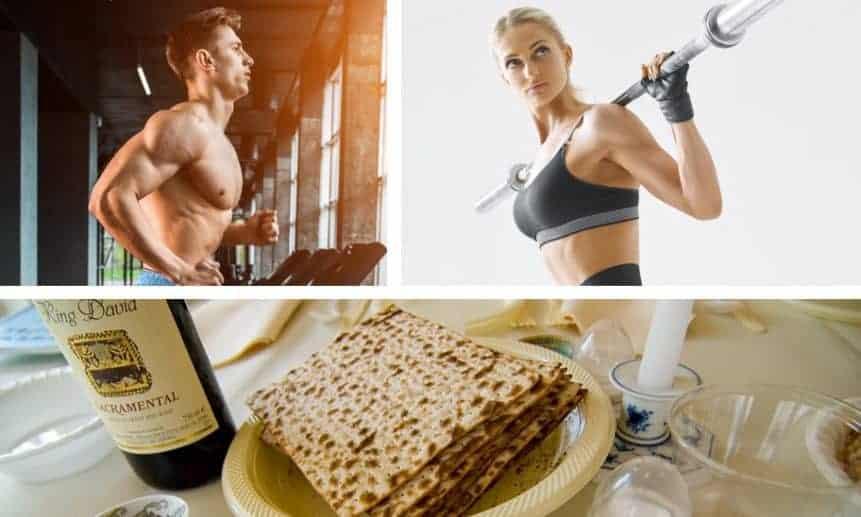 תזונה ואימונים - פסח