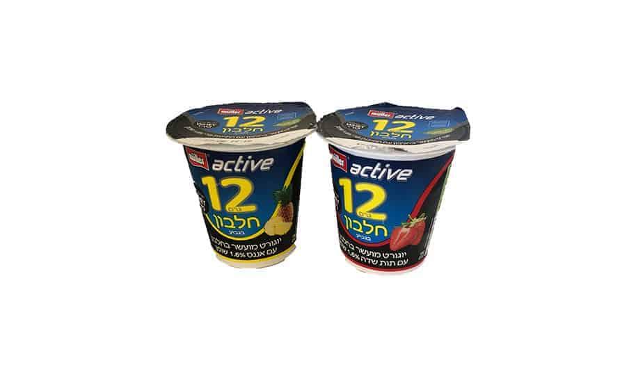 הצרכנייה: מולר אקטיב – 12 גרם חלבון