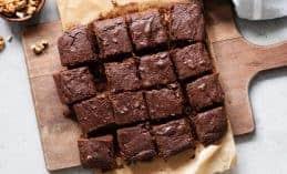 מתכון בראוניז בדיאטה: המון שוקולד וחלבון