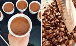 מוס שוקולד קוביות בבטן: אזהרה! המתכון ממכר