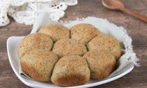 מתכון: לחמניות טחינה ללא קמח מתאים לפסח ולדיאטה