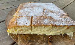 עוגת גבינה ללא גלוטן: מתכון מושלם למתאמנים