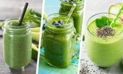 4 שייקים ירוקים בריאים, מלאים בחלבון וטעימים להפליא