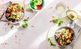 תפריט תזונה טבעוני 1200 קלוריות