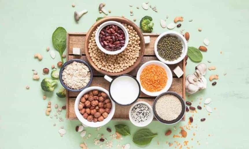 תפריט תזונה טבעוני 1400 קלוריות