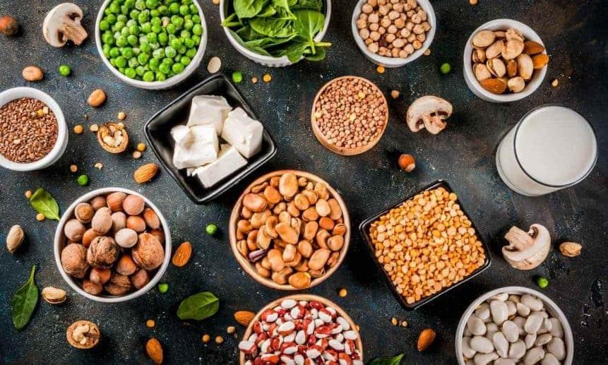 תפריט תזונה טבעוני 2000 קלוריות